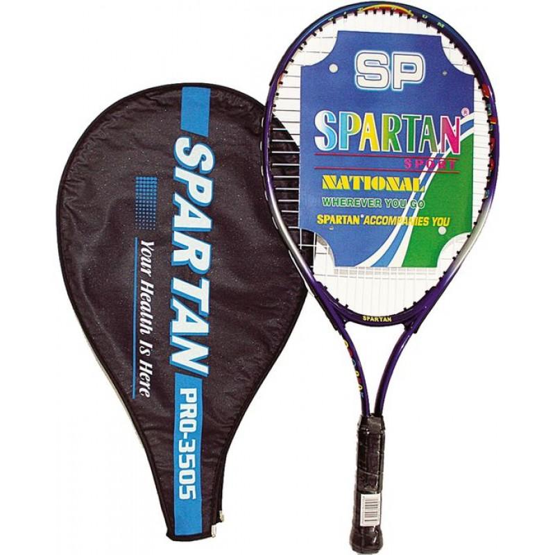 Ракета за тенис на корт SPARTAN Alu Classic, 68 см.