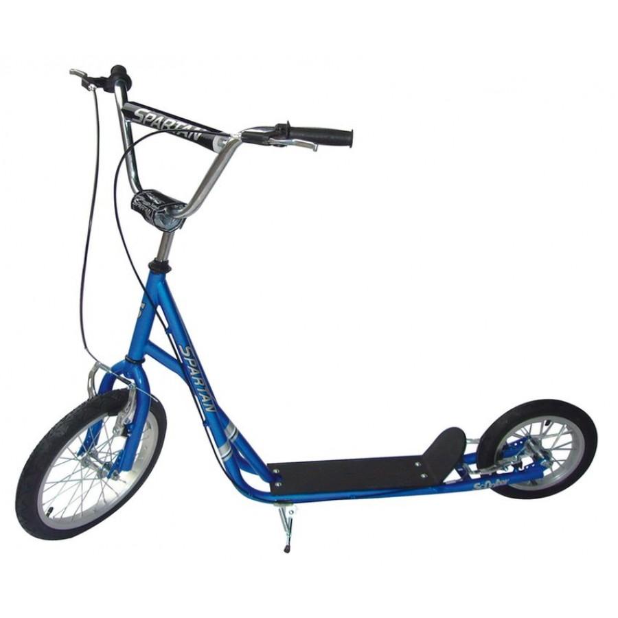тротинетка с различни колела
